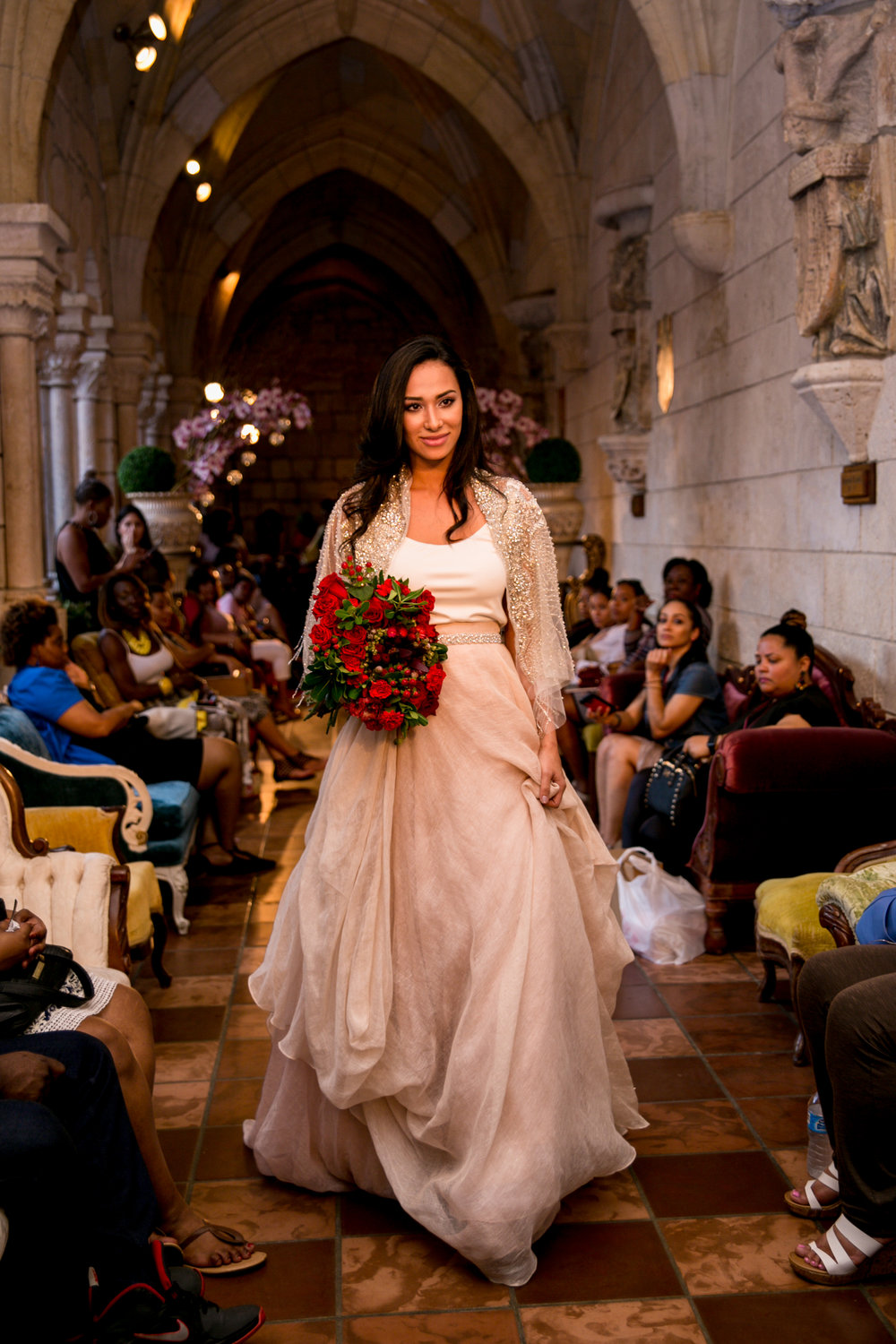 Fashion Presentation during the February 2017 show at the Ancient Spanish Monastery in North Miami Beach, FL