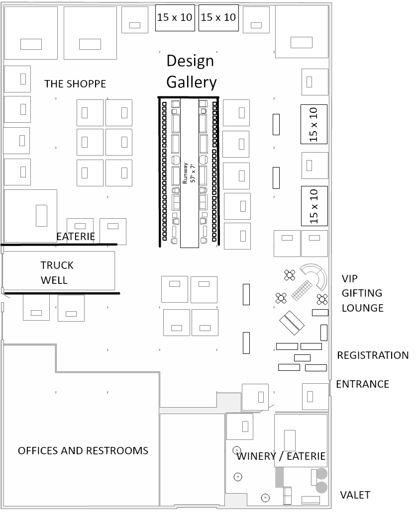 ***this is not a final floor plan.  It will vary as exhibitor spaces are confirmed***