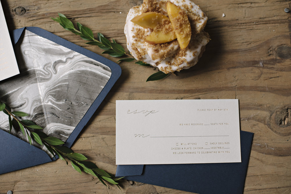 Image by Christina Block Photography. Letterpress by M.C. Pressure.