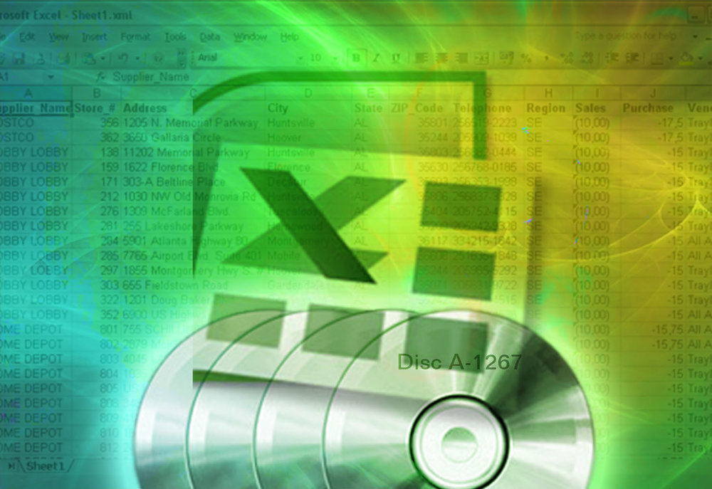 I used Microsoft Excel to create a searchable database in order to quickly locate client files in my 300 DVD archive.