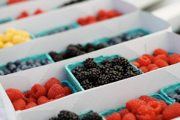 Little Italy's Farmer's Market - Berries