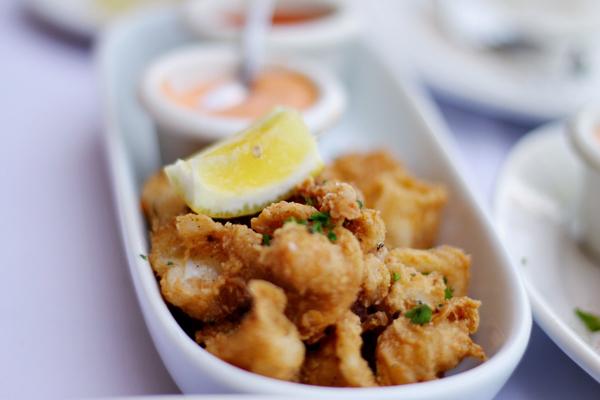 Romesco Baja Med Bistro - Calamari Fritti