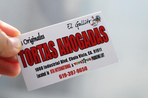 Tortas El Gallito - Chula Vista