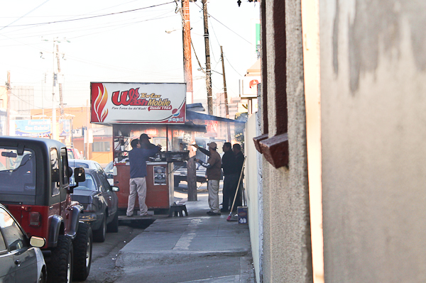 Tortas Wash Mobile in Tijuana