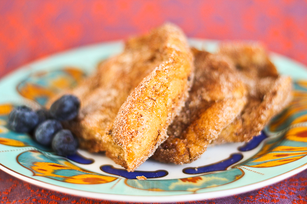 Cinnamon Pan Frances with Balsamic Strawberry Jelly