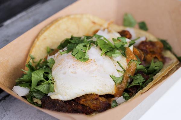 Taco de Milanesa - The Gathering Spot Bistrotruck in San Diego