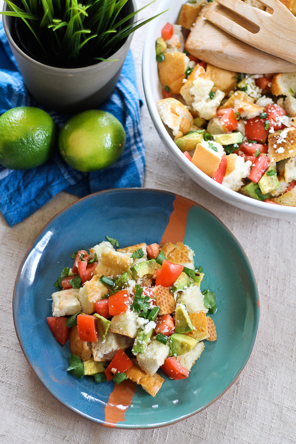 Bolillo Panzanella Salad Recipe