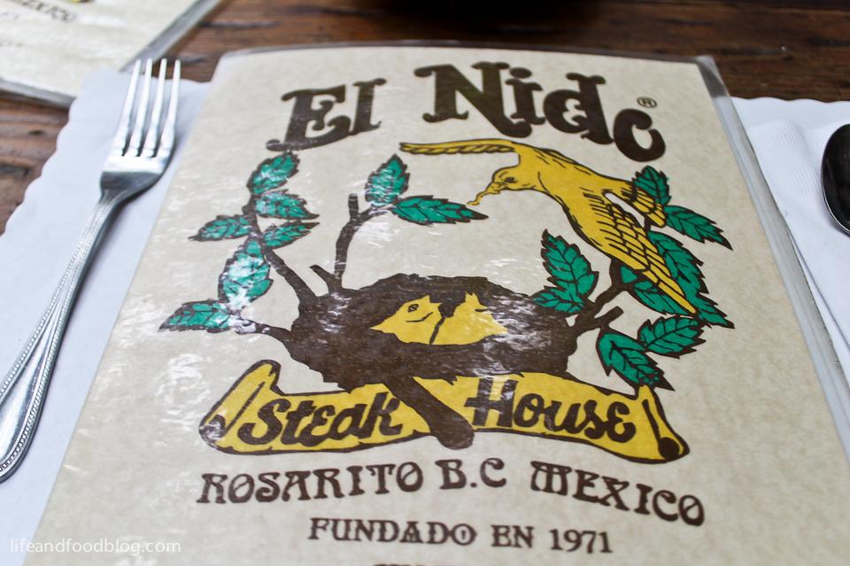 Restaurante El Nido - Rosarito, BC