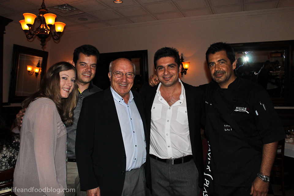Bodega Fariña's 70th Anniversary Dinner with Chef Javier Plascencia At Romesco Bajamed Bistro
