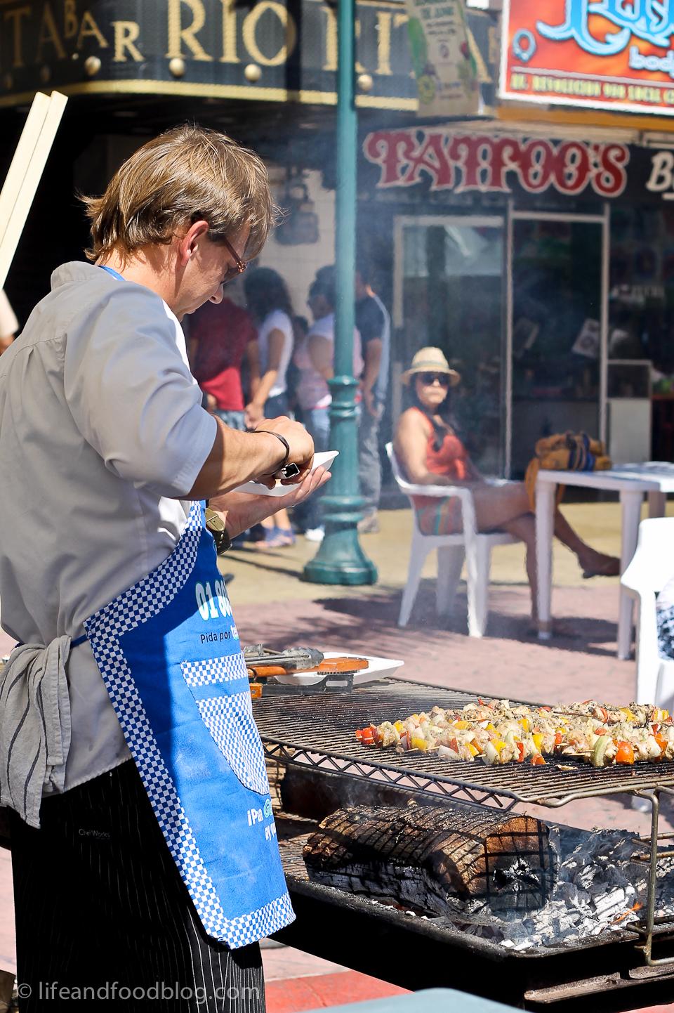 Festival de la ensalada Caesar in Tijuana