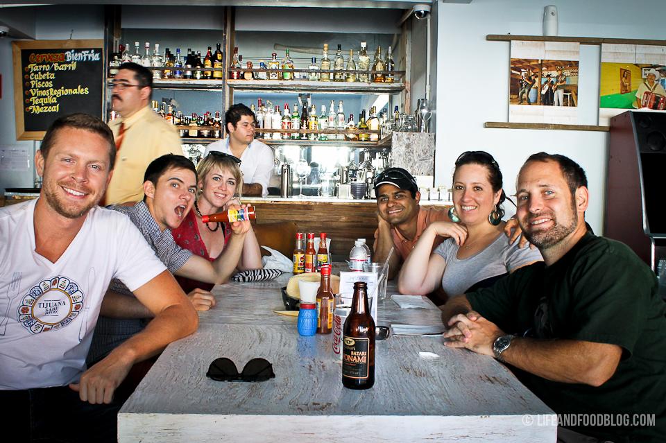 Tijuana Mariscos Progressive Meal Tour with Turista Libre and Life & Food