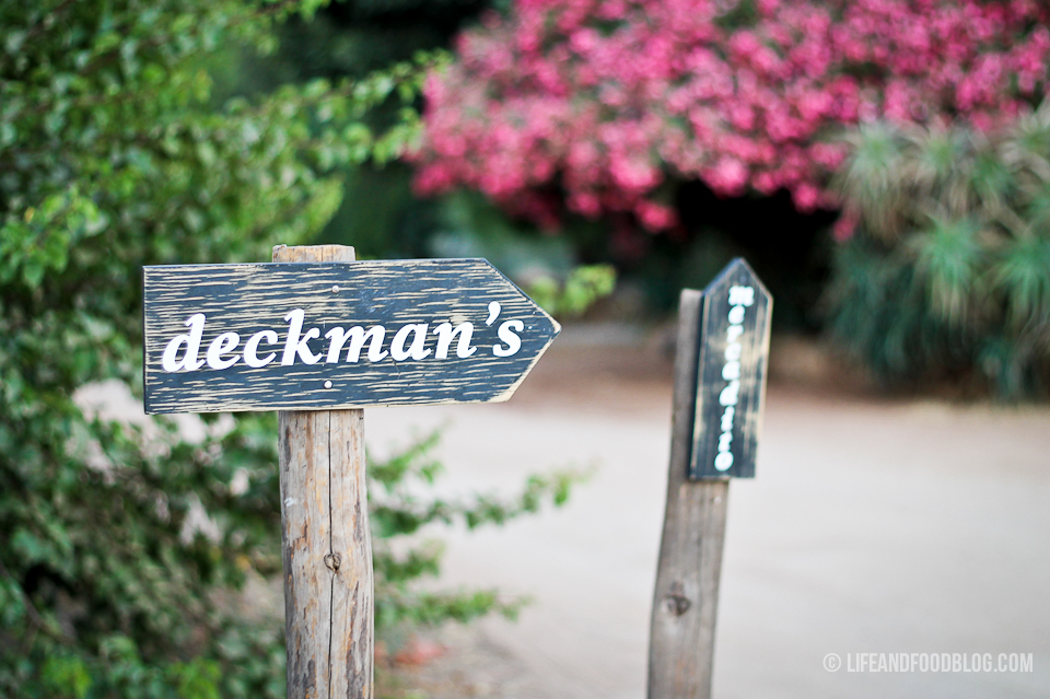 Deckman's at Mogor Badan in Valle de Guadalupe