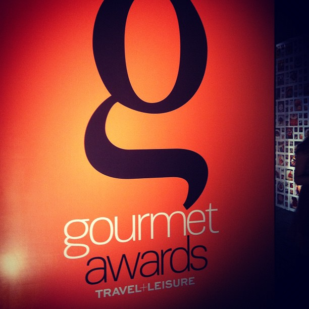 Travel and Leisure Magazine's Gourmet Awards 2012