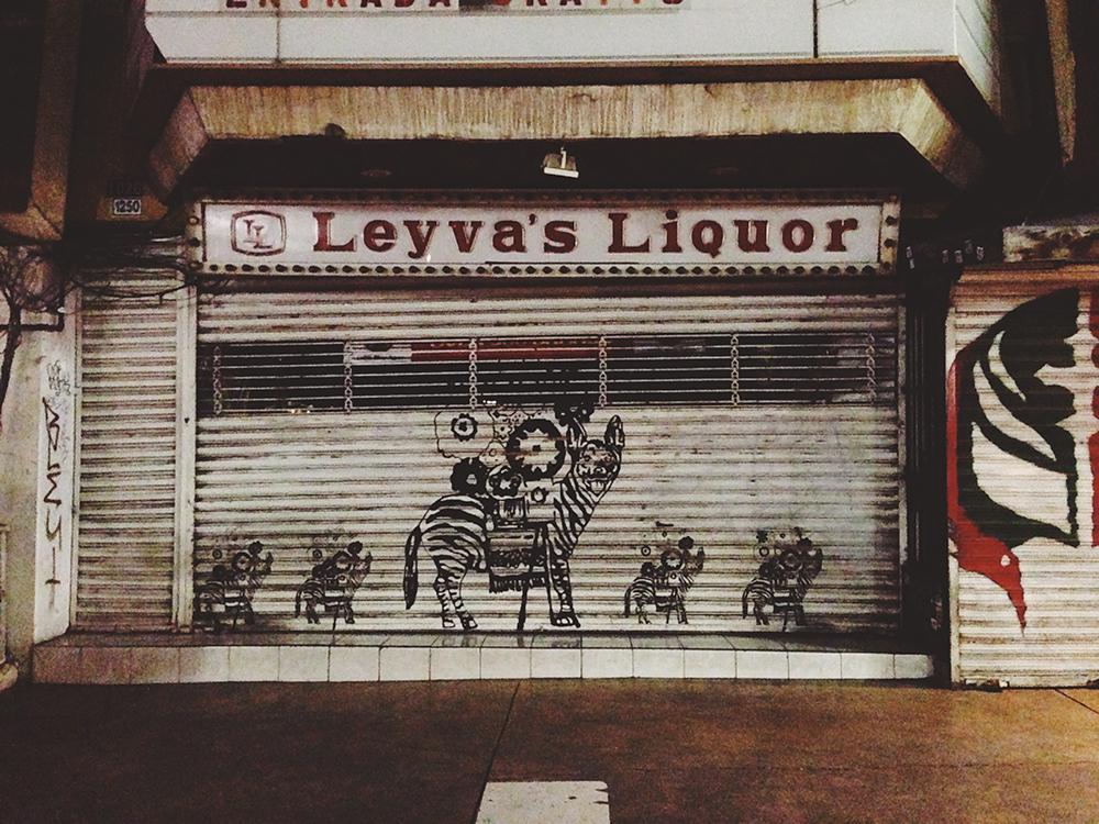 Street art in Tijuana's Avenida Revolución