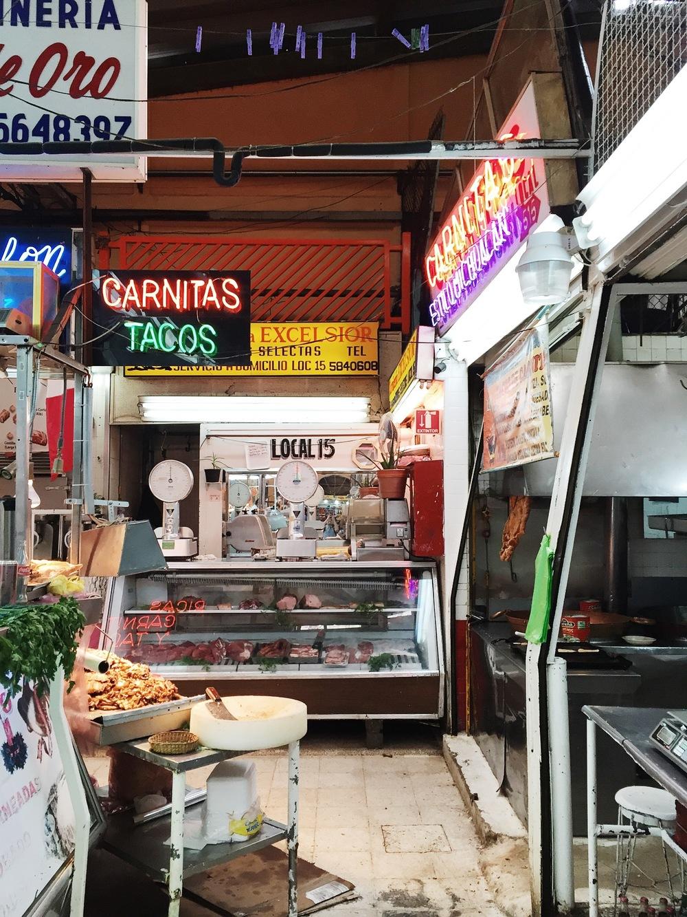 Mercado de Medellín — Colonia Roma