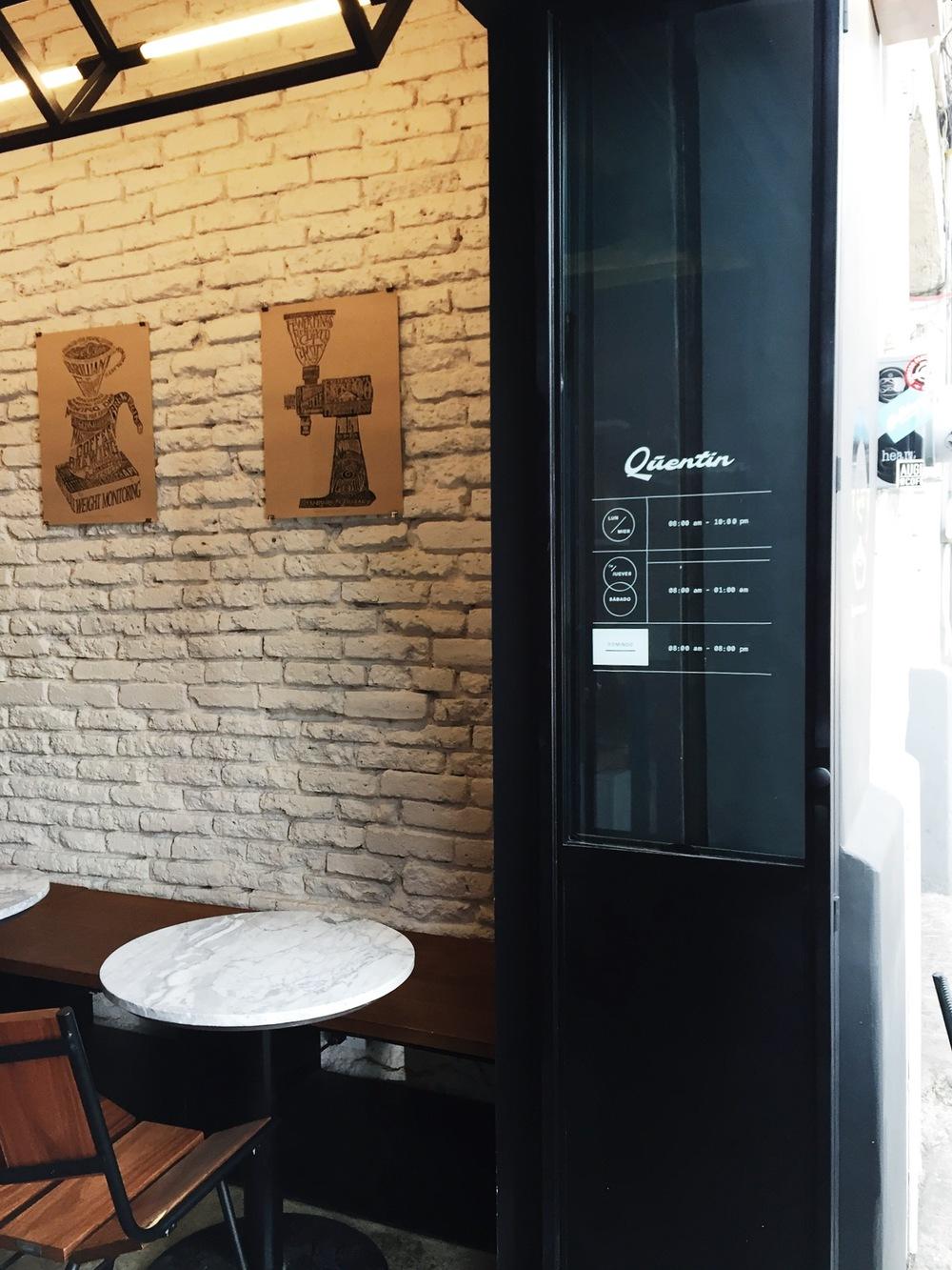 Quentin Café — Colonia Roma