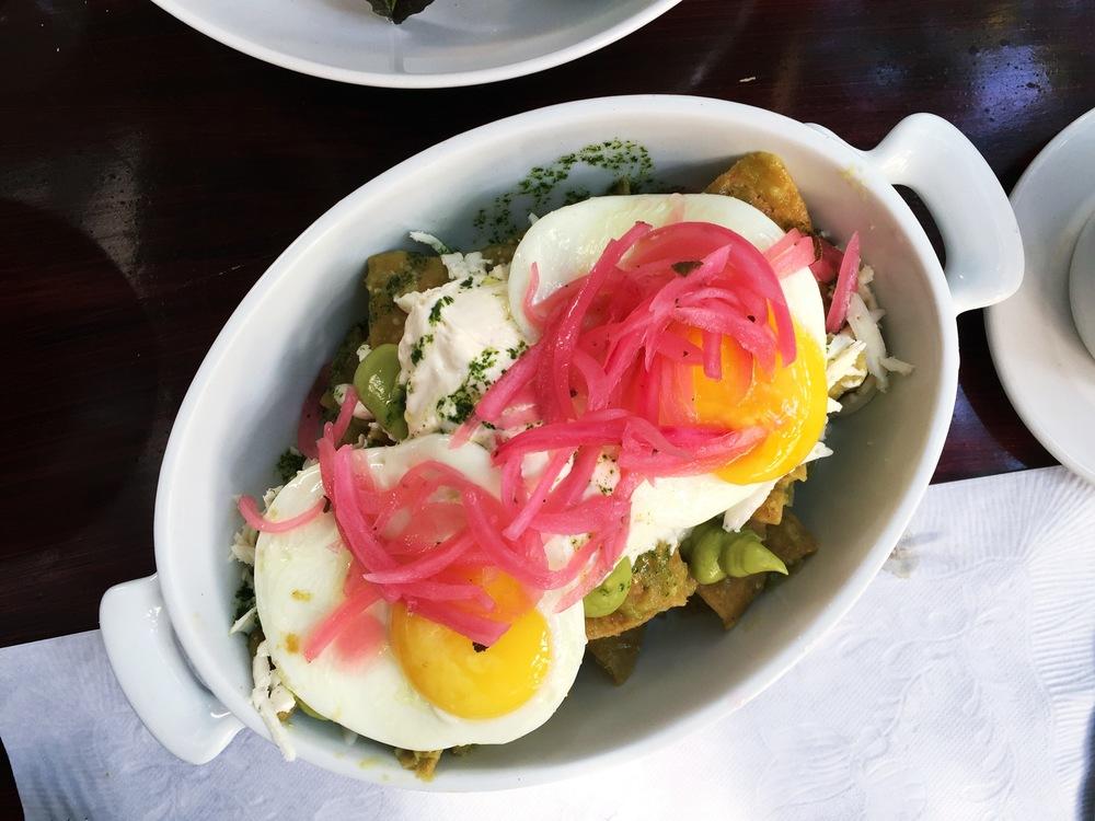 Chilaquiles Verdes | Casa Marcelo, Ensenada