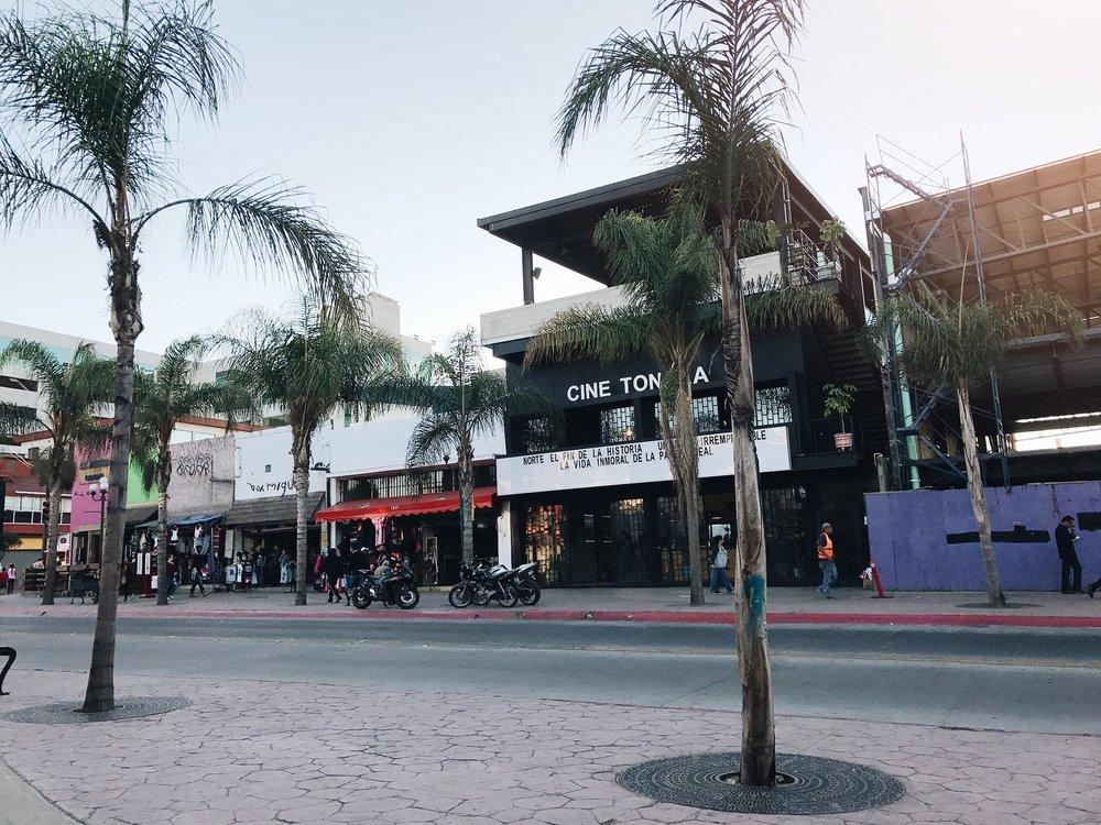 Cine Tonalá on Tijuana's Avenida Revolución