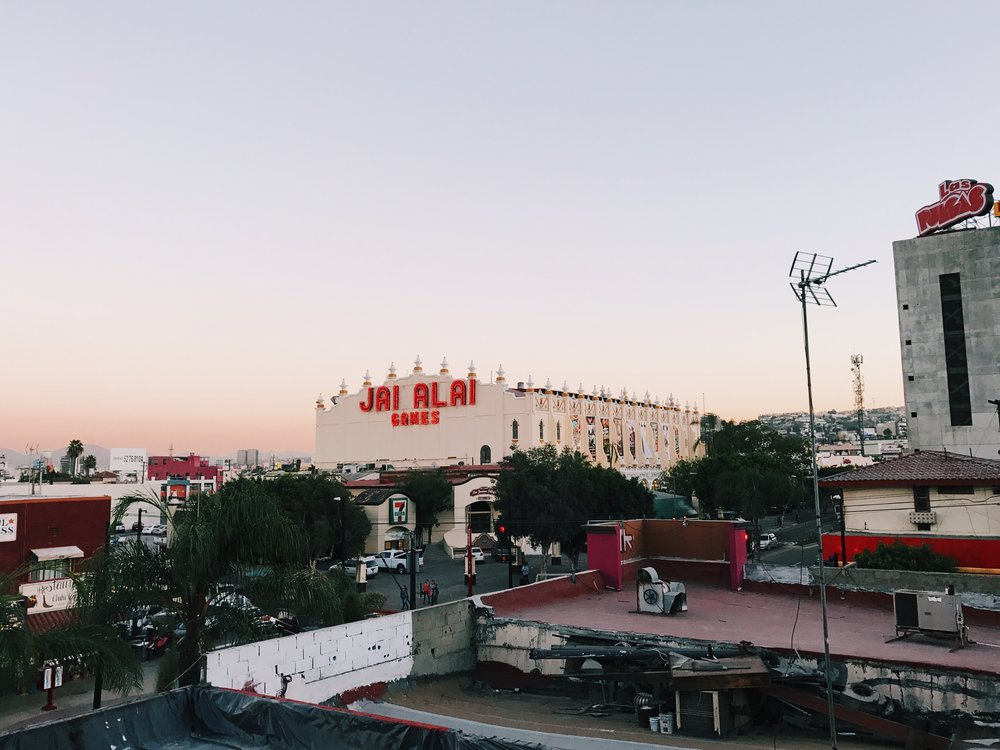 Rooftop views from Cine Tonalá, Tijuana