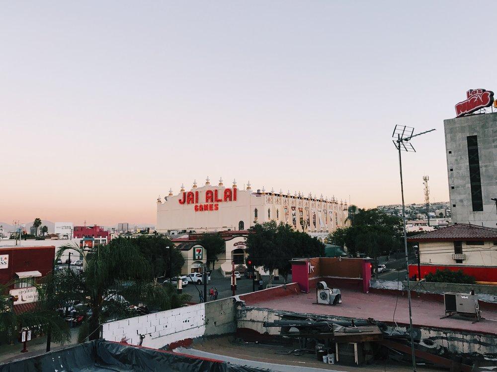 Rooftop views from Cine Tonalá, Tijuana