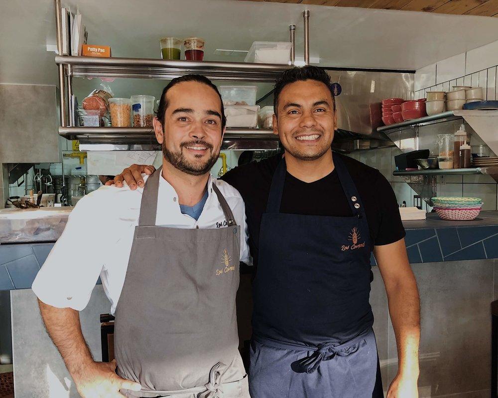 Chef Mario Peralta and Chef Juan Cabrera | Los Compas | Tijuana, BC