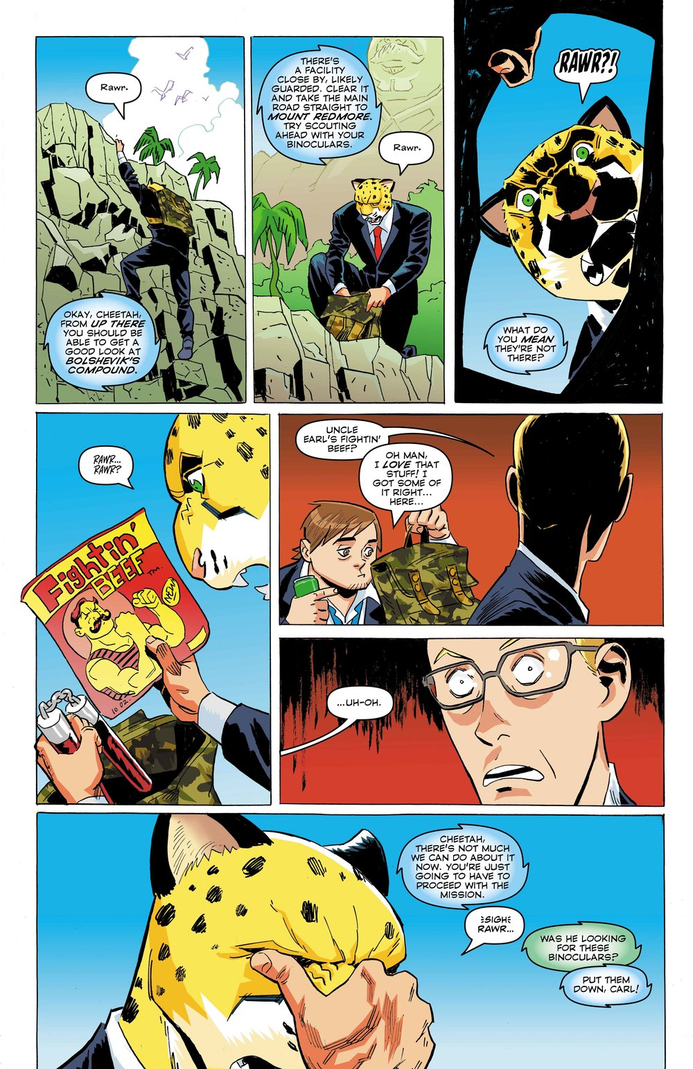 Time Cheetah - The Secret of Stalin Island Part 1 - Page 16