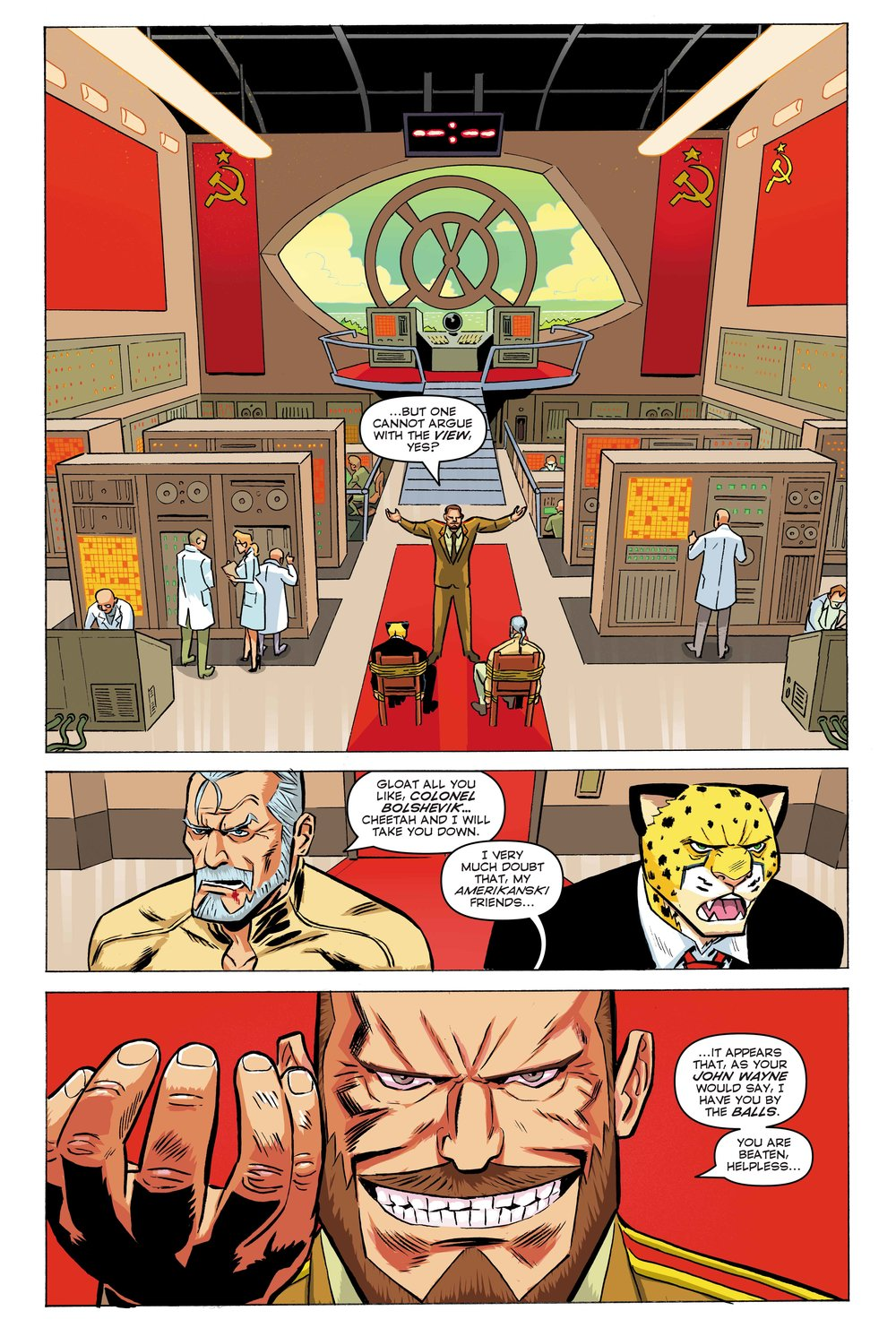 Time Cheetah - The Secret of Stalin Island Part 2 - Page 02