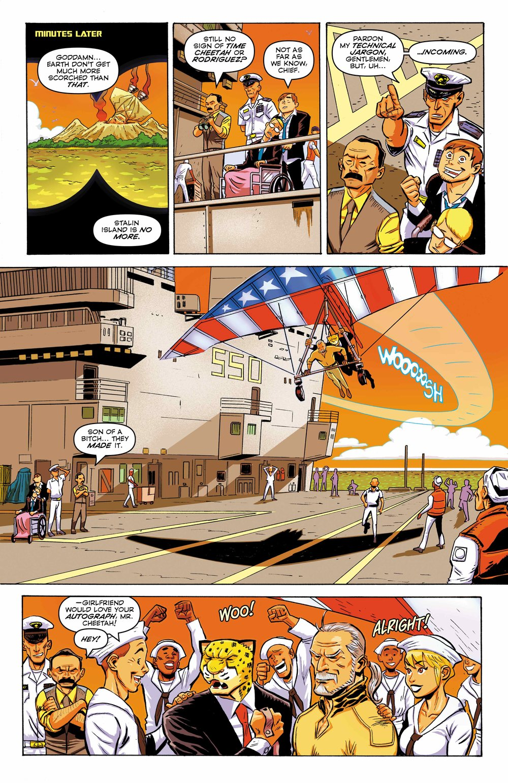Time Cheetah - The Secret of Stalin Island Part 2 - Page 25