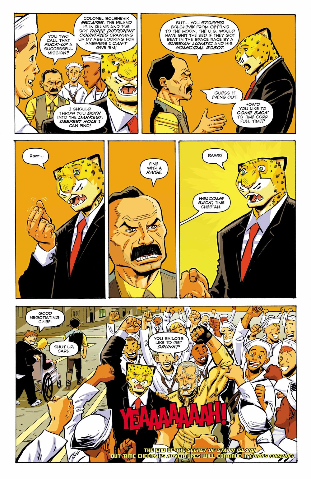 Time Cheetah - The Secret of Stalin Island Part 2 - Page 26