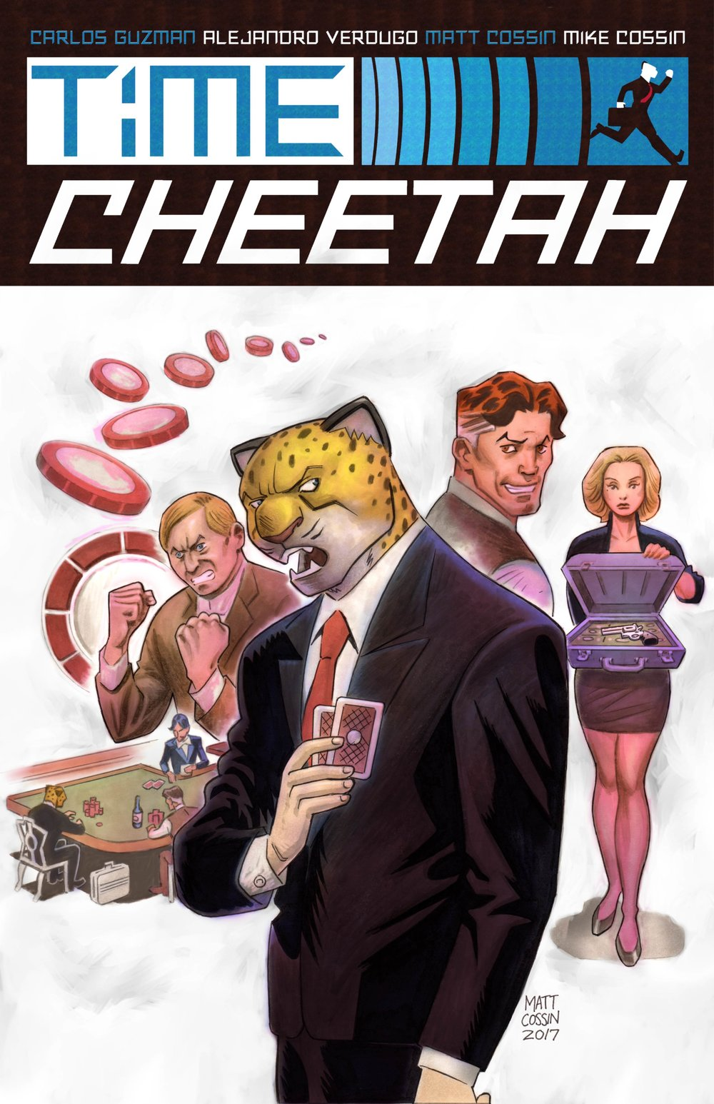 Time Cheetah - Ford's Fortune Part 1 Cover