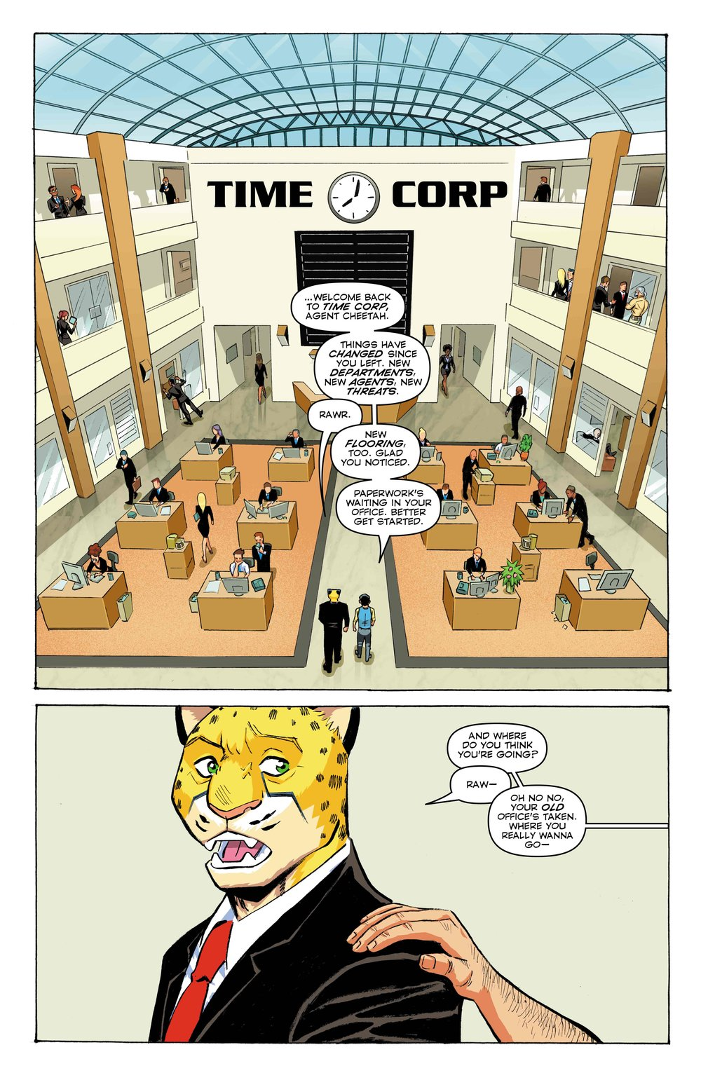 Time Cheetah - Ford's Fortune Part 1 Page 03