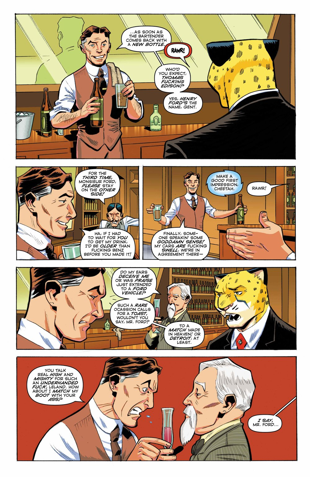 Time Cheetah - Ford's Fortune Part 1 Page 12