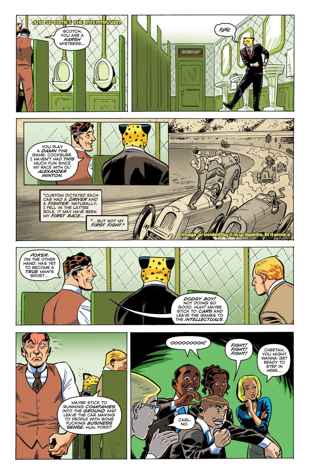 Time Cheetah -Ford's Fortune Part 1 Page 20