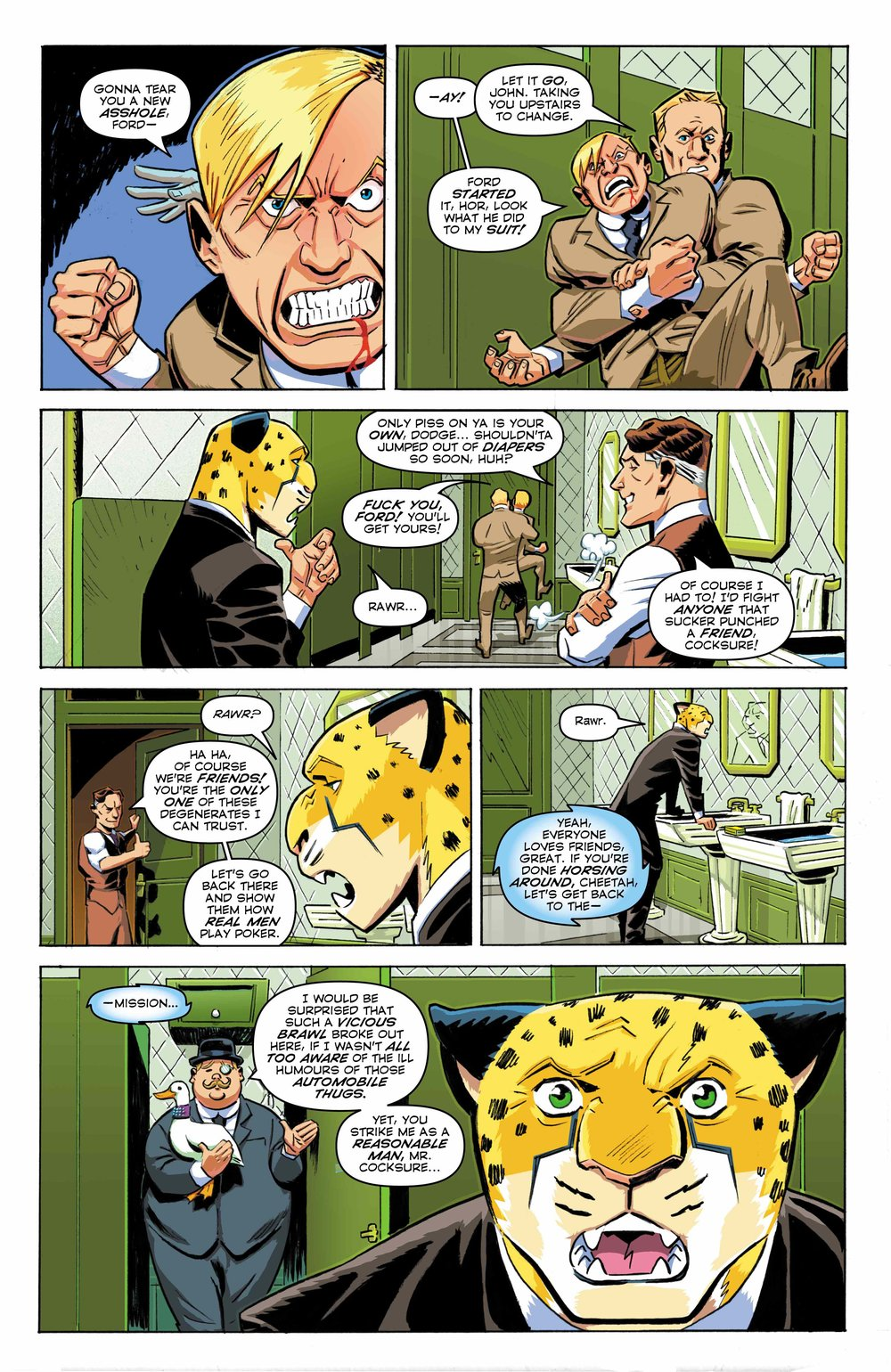 Time Cheetah - Ford's Fortune Part 1 Page 22