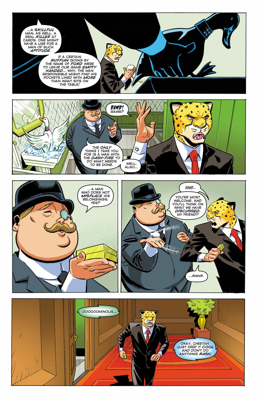 Time Cheetah - Ford's Fortune Part 1 Page 23