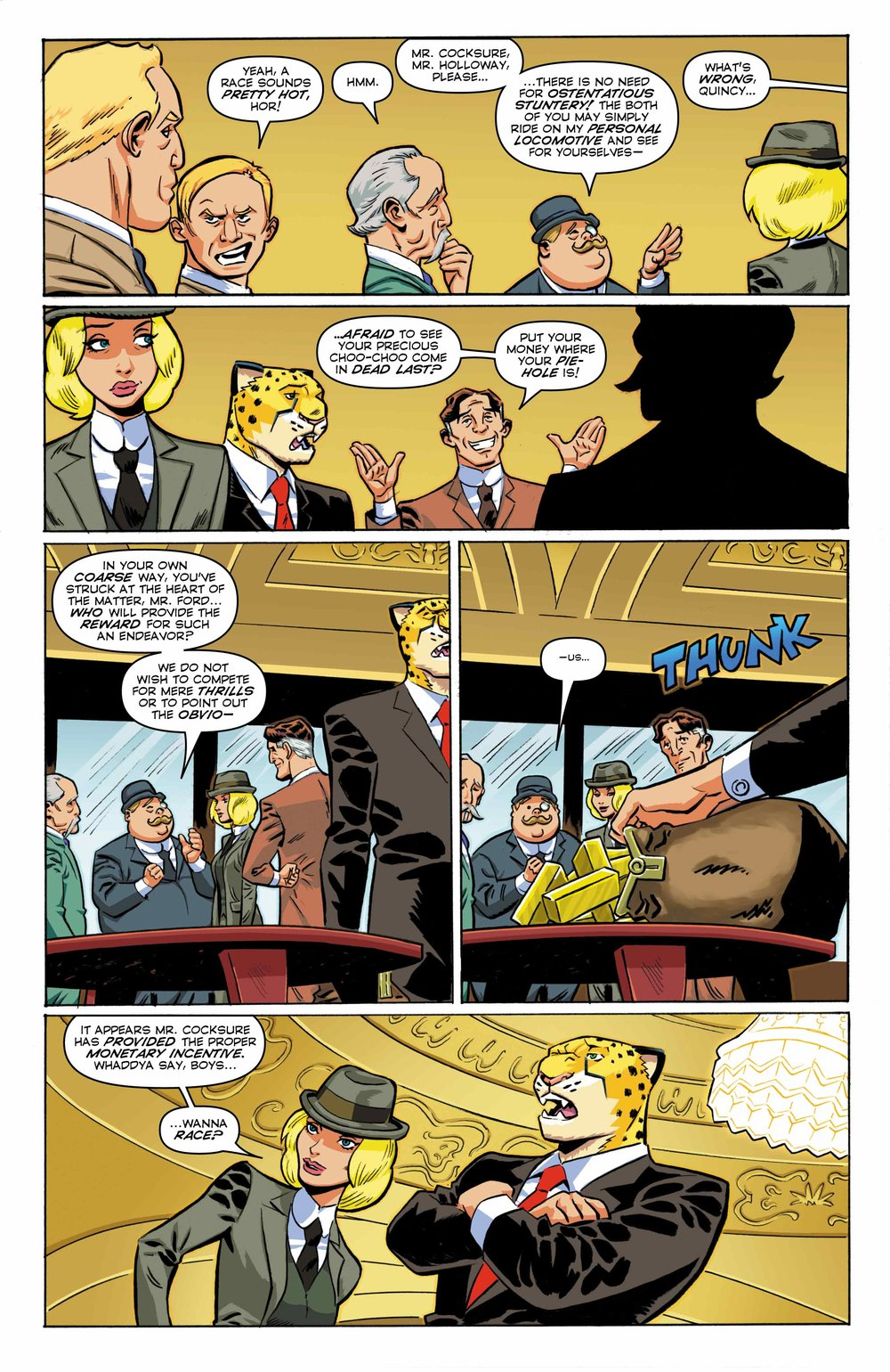 Time Cheetah - Ford's Fortune Part 2 Page 05