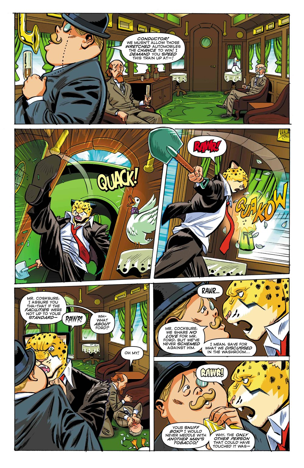 Time Cheetah - Ford's Fortune Part 2 - Page 20