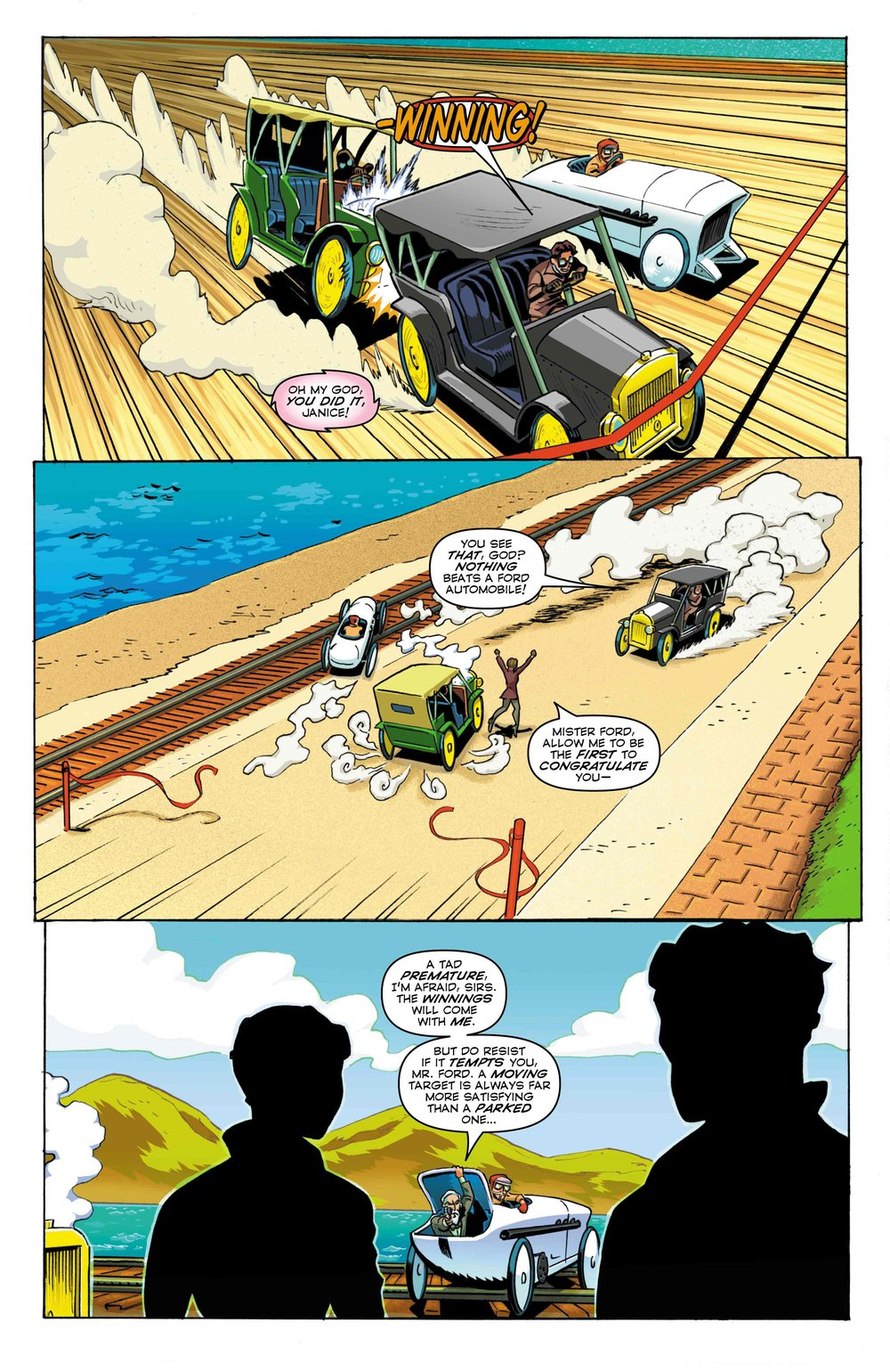 Time Cheetah - Ford's Fortune Part 2 - Page 23