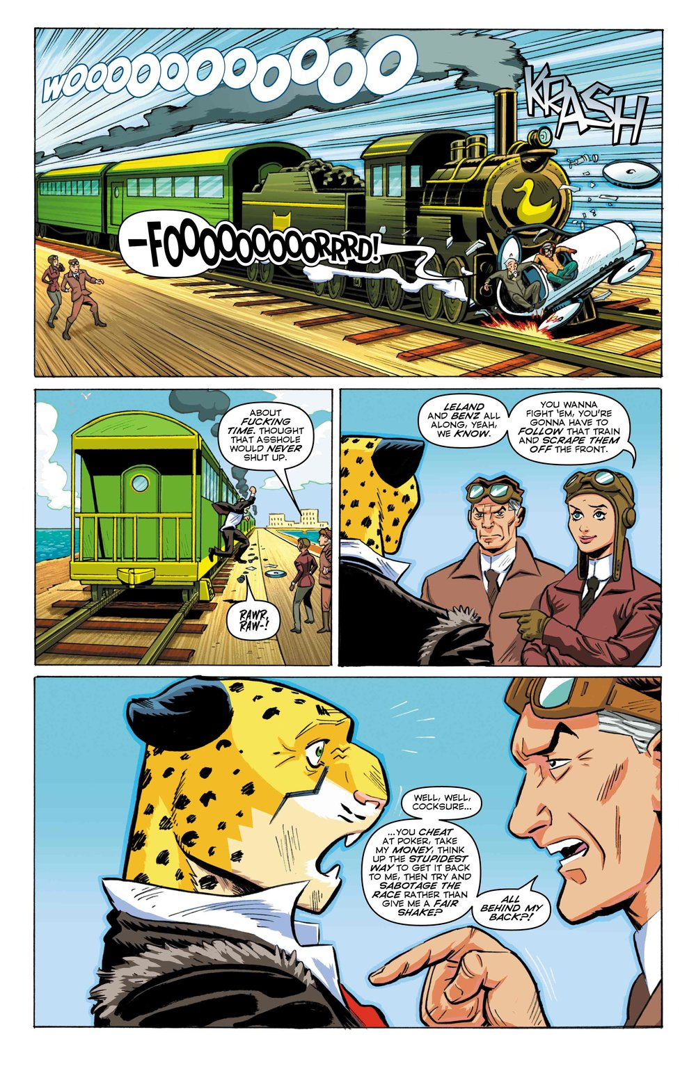 Time Cheetah - Ford's Fortune Part 2 - Page 25