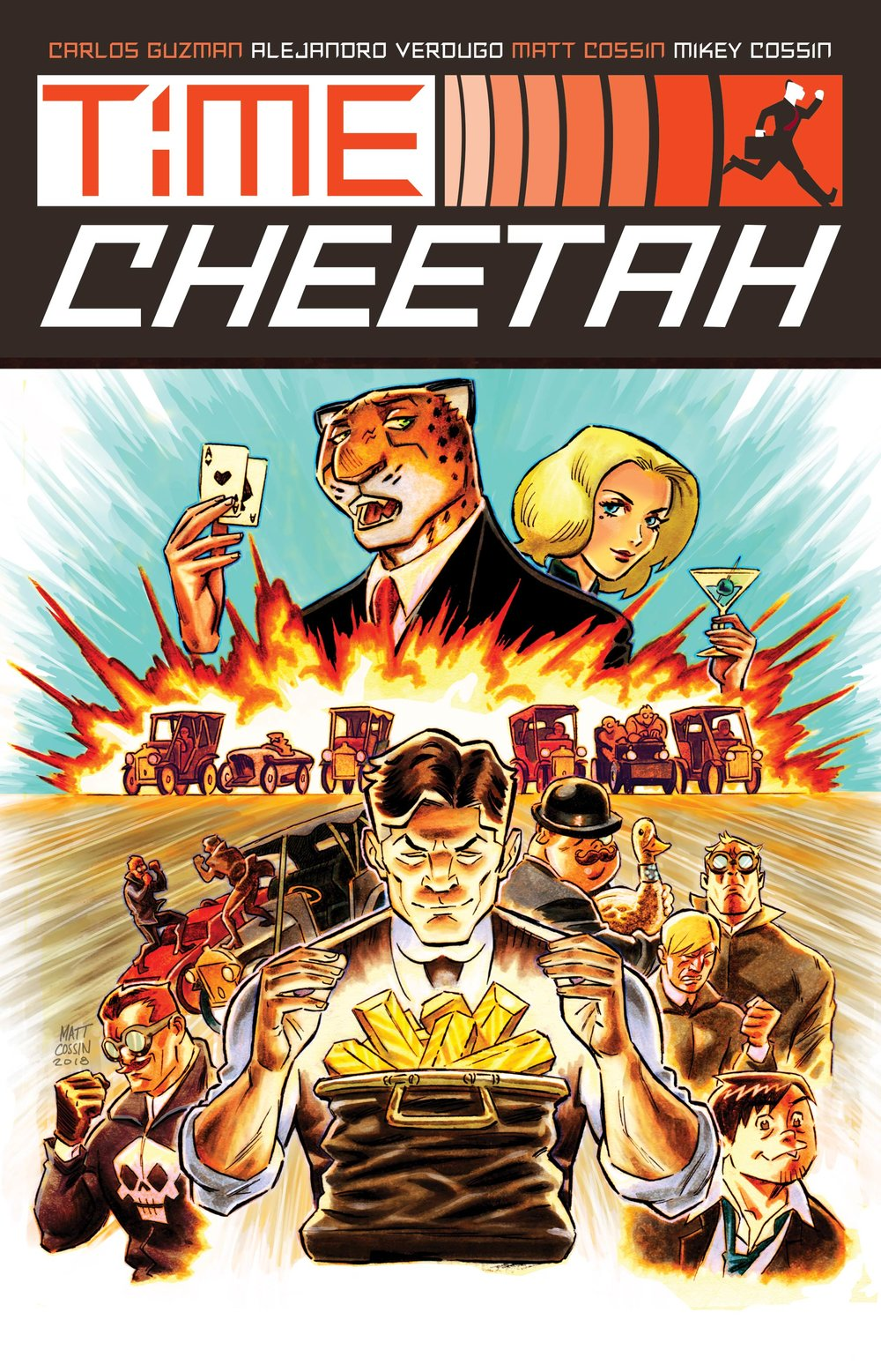 Ford's Fortune Kickstarter Time Cheetah Cover
