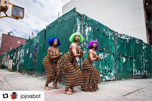 #GirlGameChanger™ salute. SOURCE FORCE FLOWS. #knowthisnow #TrustYourLight✨✨✨™ #Repost @jojoabot with @get_repost ・・・ The world we live in Seems to lack empathy Love  And good spirit  A clear absence  Of the divine feminine power  That nourishes  Heals And offers life abundantly  So I ask that we awaken  From our generational slumber Take our place  Make a change  Drawing closer to SELF To God  And the universe around  May the divine feminine spirit  Walk this earth again  Boldly and wholly  Restoring barren lands  Uprooting seeds of darkness  And destroying the plans of the evil one  Giving... ✨POWER TO THE GOD WITHIN✨  An interdisciplinary immersive  experience Re-Presenting the black being as divine and all powerful.  An exploration of the manifestations Of God in divine feminine form as essence and spirit existing beyond the confines of the physical body. Connected deeply to the Source and Life itself.  Provoking, gathering and Re-Membering ancient SELVES long lost as pathways to a universal force.  Premiering at @nationalsawdust  July 14th - Tickets available now  #FYFYAWOTO  as seen by @lizsmalls for the FYFYA WOTO Archives, 2018 #themoodboard #jojoabotlive #NYC #blackgirlmagic #divinefeminine