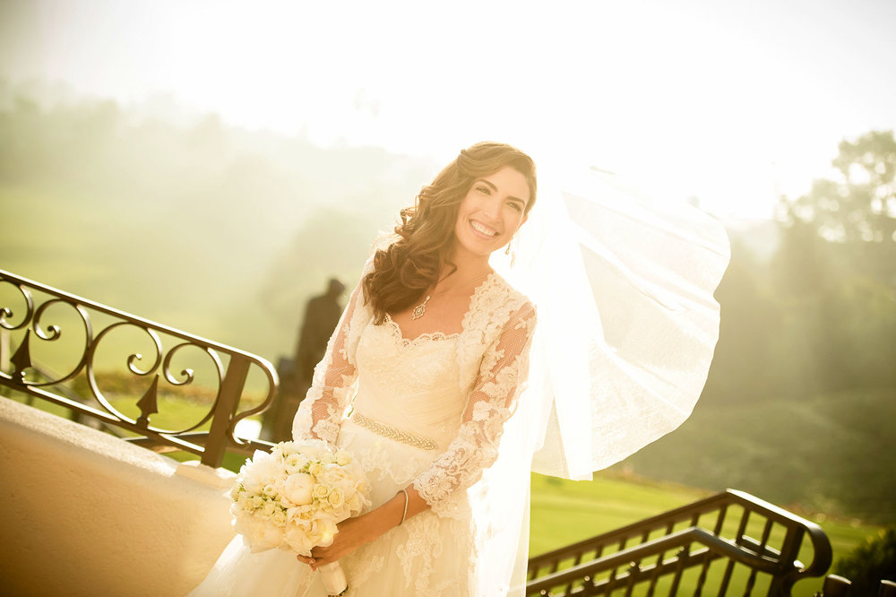 Jewish wedding at riviera country club