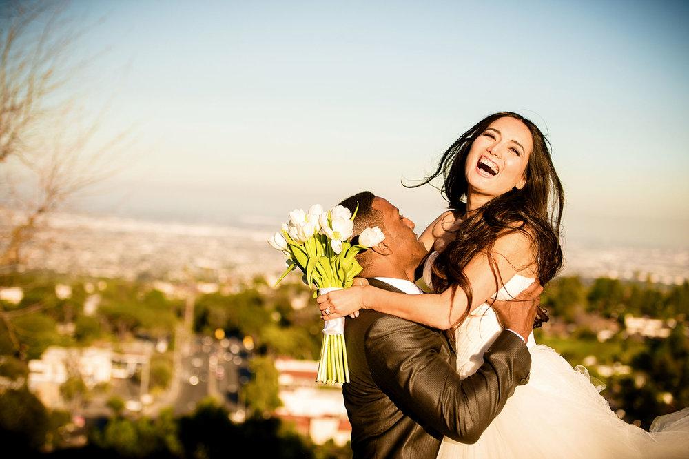 rancho palos verdes wedding 婚礼