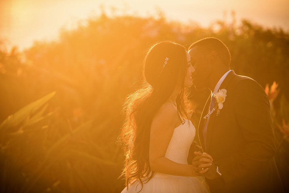 Wedding moments at Trump National Golf Club