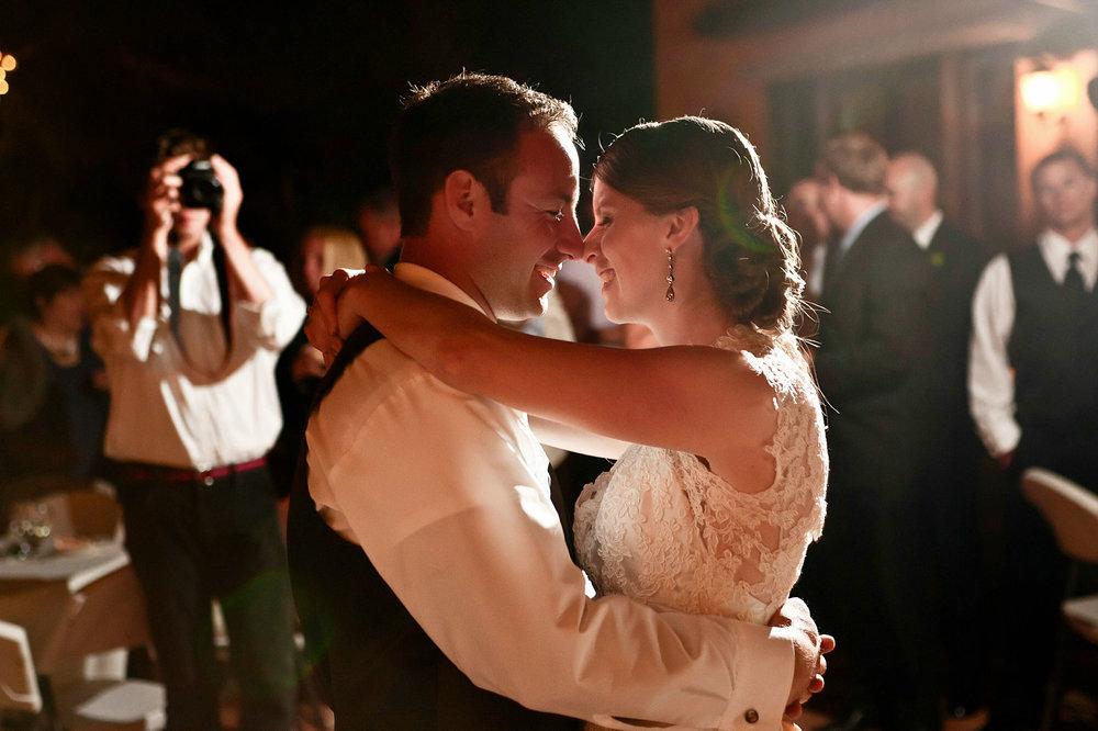 southern california wedding first dance