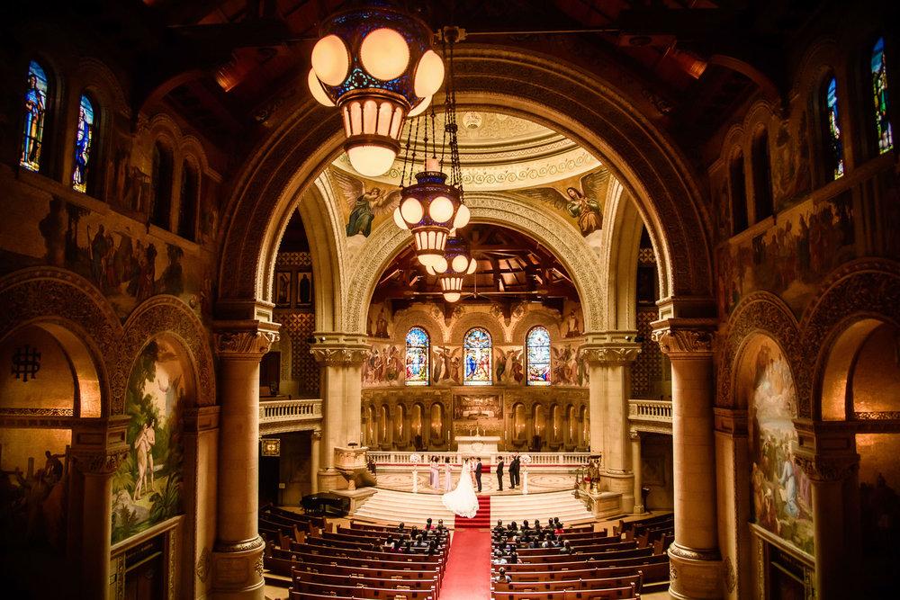Stanford memorial church wedding ceremony