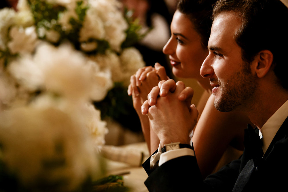 reception of a Jewish wedding at riviera country club in pacific palisades