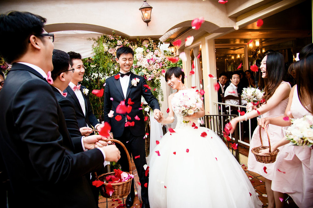il cielo wedding ceremony