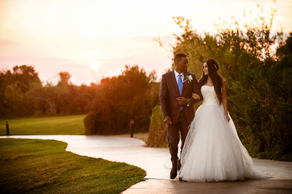 Trump national golf club wedding