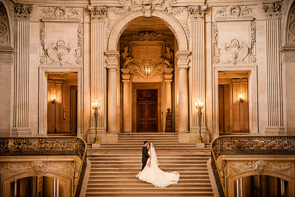 旧金山市政厅婚纱照 San Francisco City Hall Pre Wedding